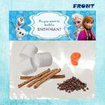 Disney Frozen  Printable Snack Label by DreamalittleCraft on Etsy