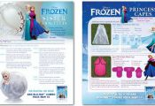 Disney Frozen cape instructions