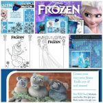 #Disney Frozen free printable activities.  Activities include making a stone tro...