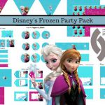 Disney's FROZEN Birthday party Printable package - Get yours for under $2 by...