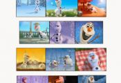 Disney's Frozen party game Don't Eat Olaf free printable | The Style Sis...