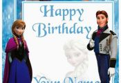 Disney+Frozen+-+34a+-+Edible+Photo+Cake+Topper+-+Free+Personalization