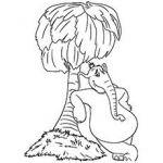 Dr Seuss Coloring Pages Horton the Elephant  Coloring, Dr, elephant, Horton, Pag...