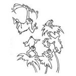 Dr Seuss Coloring Pages Wickershams