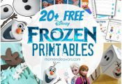 FREE Disney Frozen Printables - Gratisfaction UK Freebies #freebies #freebiesuk ...