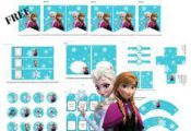 FREE Disney's FROZEN Printable