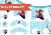 FREE Frozen Party Printable