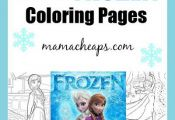 FREE Frozen Printable Coloring Pages (Anna, Elsa, Olaf and MORE!)