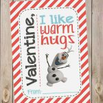 FREE Olaf (Disney's Frozen) Printable Valentines! Did I mention FREE? And th...