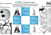 "FREE Printable Disney ""FROZEN"" Activity Sheets and Match Game! - See more at..."