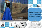 #FREE #Printable Disney's Frozen Activity Sheets