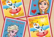 FREE Printable Frozen Valentines