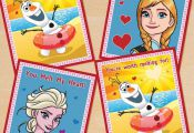 FREE Printable Frozen Valentines  free, Frozen, printable, Valentines #Free, #Fr...