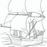 FREE Printable Mayflower Coloring Pages – Surviving A Teachers Salary  Colorin...