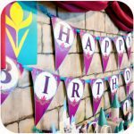 FROZEN Banner; Coronation Day; Printable  Matches Party Stores Frozen Supplies  ...