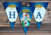 FROZEN Fever Banners  Frozen Printables  Frozen by EniPixels