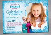 FROZEN INVITATION, Frozen Birthday Invitation, Frozen Party Invitation, Frozen P...