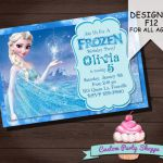FROZEN PRINTABLE INVITATION Custom Frozen by CustomPartyShoppe, $10.00