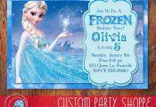 FROZEN PRINTABLE INVITATION Custom Frozen by CustomPartyShoppe, $7.50