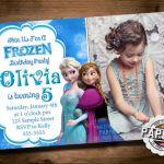 FROZEN PRINTABLE INVITATION Custom Frozen by PinkFrostingPaperie