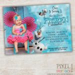 FROZEN PRINTABLE INVITATION Custom Frozen by PixelPerfectShoppe, $10.00