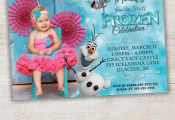 FROZEN PRINTABLE INVITATION Custom Frozen by PixelPerfectShoppe, $10.00