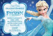 FROZEN PRINTABLE INVITATION Custom Frozen by PixelPerfectShoppe, $7.00
