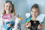FROZEN Photo Booth Printables - Capturing Joy with Kristen Duke