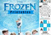FROZEN Printables from Disney