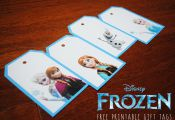 FROZEN Toys, FROZEN Kids Meals, and Free Printable FROZEN Gift Tags