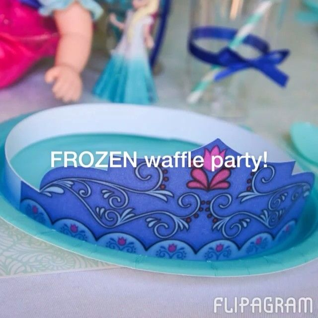 FROZEN-waffle-party-on-the-blog-today-Come-see-all-the-details-and-download-the FROZEN waffle party on the blog today! Come see all the details and download the... Cartoon