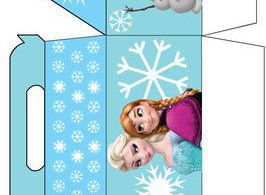 Favor Box 2, Frozen, Favor Box - Free Printable Ideas from Family Shoppingbag.co...