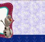 Fiesta Frozen: Etiquetas para Candy Bar, para Imprimir Gratis.