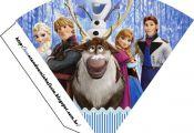 Fiesta de Frozen: Tarjetería e Imprimibles Gratis para Candy Bar.
