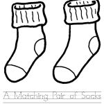 Fox in Socks from Dr Seuss Coloring Pages Worksheet printable