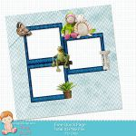 Free Digital Scrapbook Kits: Free Quick Page / Frozen Printable Papers