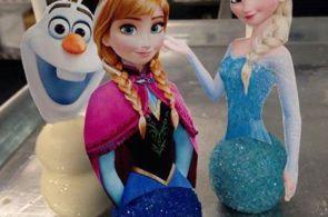 Free Disney Frozen Printable for Cake Pops