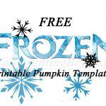 Free FROZEN Pumpkin Carving Halloween Templates ~ FREE Stencil Printables (Elsa,...