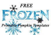 Free Frozen Printable Pumpkin Templates
