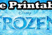 Free Frozen Printables