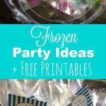 Free Frozen Printables & Frozen Party Ideas plus Elsa Dress for Babies - Any Tot...