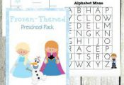 Free Frozen Printables for Preschoolers (38 Pages!)