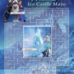 Free Frozen printables-coloring pages, Elsa crown, Anna crown, invitations, stic...
