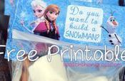 Free Printable Frozen Build-A-Snowman Kit Labels