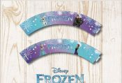 Free Printable Frozen Cupcake Wrappers