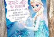 Free Printing for first 10 invitations / Frozen by RoostPaperie, $13.00