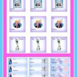 Free printable Frozen Gift tags for Christmas or birthdays!