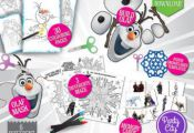 Frozen Activities Printable Games - Coloring Pages + Olaf Costume Mask + Build a...