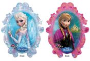 Frozen Balloon- Elsa and Anna (Uninflated) - Balloons Galore & Gifts