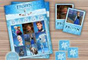 Frozen Bingo Game - Frozen Birthday - Frozen Party Favors - Printable - Instant ...
